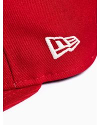 Stussy - Red Snapback for Men - Lyst