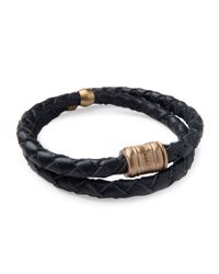 Miansai | Blue Men's Woven Leather Bracelet for Men | Lyst
