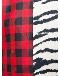 Fausto Puglisi - Black Animal Print Skater Dress - Lyst