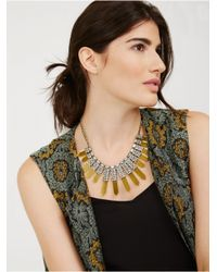 BaubleBar - Yellow Roma Collar - Lyst