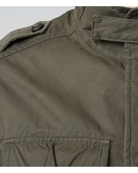AllSaints | Natural Strauss M65 Jacket for Men | Lyst