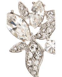 Marchesa - Metallic Casa Blanca Drop Earrings - Lyst