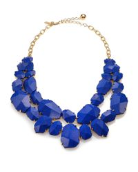 kate spade new york | Blue Quarry Gems Double-strand Necklace | Lyst