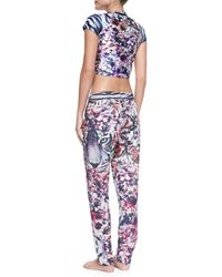 We Are Handsome - Multicolor Printed Pull-On Drawstring Coverup Pants - Lyst