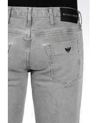 Emporio Armani | Gray Jeans for Men | Lyst