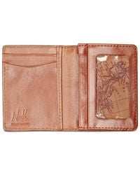 Patricia Nash | Brown Nash By Men's Heritage Leather Gusseted Card Case | Lyst