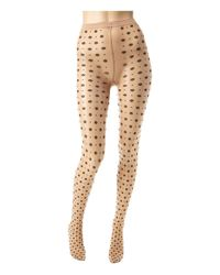 Wolford | Natural Daria Knee-high Socks | Lyst