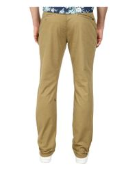 Volcom | Natural Frickin Slim Canvas Pants for Men | Lyst