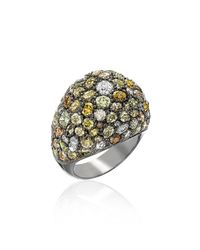 Kimberly Mcdonald | Metallic Multicolor Diamond Dome Ring | Lyst