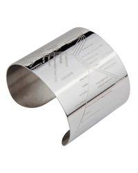 Designhype | Metallic San Francisco Metro Cuff Embossed | Lyst
