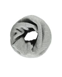 Forever 21 - Gray Ribbed Tube Scarf You've Been Added To The Waitlist - Lyst