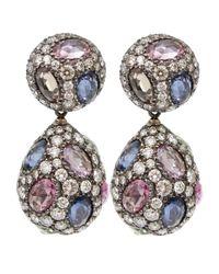 Arunashi - Metallic Sapphire Earring - Lyst