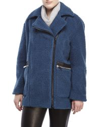 Elizabeth and James | Blue Dawson Coat | Lyst