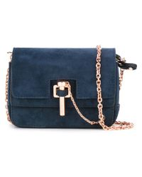 Carven | Blue Chain Cross-body Bag | Lyst