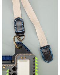 Vice & Vanity - Black 'Enola' Necklace - Lyst