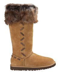 Ugg   Brown Rosana Sheepskin Boots   Lyst