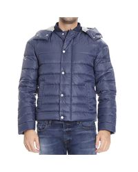 Hogan | Blue Down Jacket for Men | Lyst