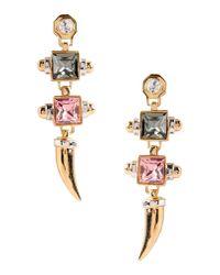 Eshvi - Metallic Earrings - Lyst