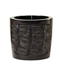Nada Sawaya | J35 - Crocodile Stretch Cuff - Black | Lyst