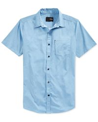Hurley | Blue Dri-fit Rogan Button-up Shirt for Men | Lyst