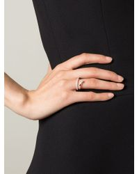 Delfina Delettrez | Metallic 'marry Me' Ring | Lyst