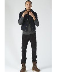 NSF | Black Adams Trucket Jacket | Lyst