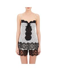 Dolce & Gabbana - Black Lace-inset Underwire Camisole - Lyst