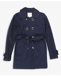 Forever 21 - Blue Girls Belted Trench Coat - Lyst