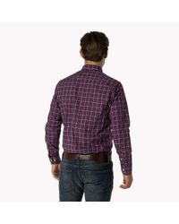 Tommy Hilfiger - Purple Woven Cotton Shirt for Men - Lyst