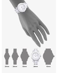 Fendi - Ceramic Round Watch/White - Lyst