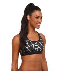 Nike - Gray Dri-fit™ Pro Classic Padded Giraffe Bra - Lyst