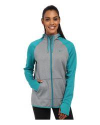 Nike | Blue All Time Full Zip Hoodie | Lyst
