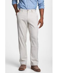 Tommy Bahama | Natural 'bryant' Flat Front Pants for Men | Lyst