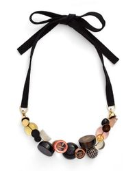 Marc By Marc Jacobs - Black Statement Necklace - Lyst