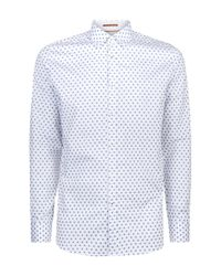 Ted Baker | Gray Fillips Fil coupé Shirt for Men | Lyst