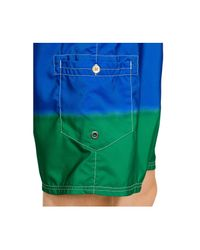 Polo Ralph Lauren | Green Shelter Island Dunk-dyed Swim Trunks for Men | Lyst