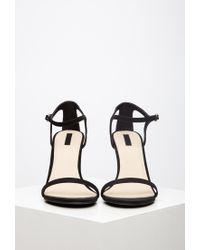 Forever 21 | Black Ankle Strap Heels | Lyst