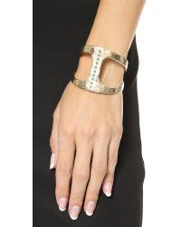 Pascale Monvoisin - Metallic Seven Cuff Bracelet - Gold/turquoise - Lyst