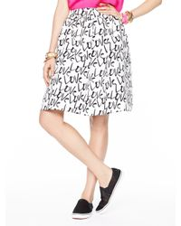 kate spade new york | Natural Love Cupcake Skirt | Lyst