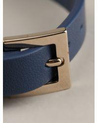 Valentino | Blue Rockstud Bracelet | Lyst
