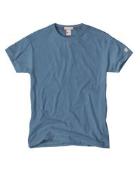 Todd Snyder | Blue Classic Crew T-shirt In Ocean for Men | Lyst