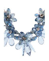 Coast | Blue Floral Necklace | Lyst