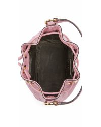 MILLY - Pink Astor Small Star Bucket Bag - Lyst