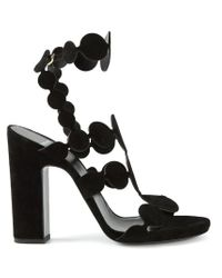 Pierre Hardy - Black 'Pearls' Sandals - Lyst