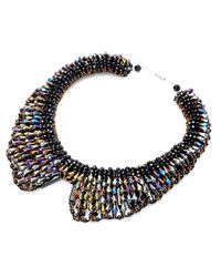 Nakamol | Multicolor Tazia Crystal Necklace-hematite | Lyst