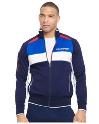 Polo Ralph Lauren - Blue Polo Sport Colorblocked Track Jacket for Men - Lyst