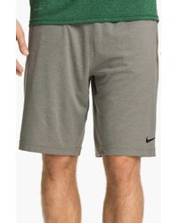 Nike | Gray 'fly 2.0' Dri-fit Knit Training Shorts for Men | Lyst