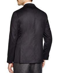 Michael Kors | Black Trop Wool Regular Fit Blazer for Men | Lyst