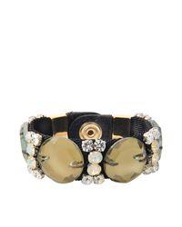 Marni | Gray Pistachio Crystals Bracelet | Lyst