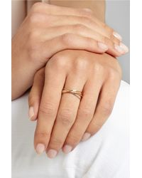 Melissa Joy Manning | Metallic 14-Karat Gold Interlocking Ring | Lyst